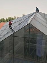 忻州公司外墻玻璃清洗服務報價圖片