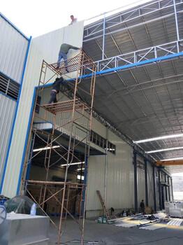 潮州钢结构车库、钢结构工厂