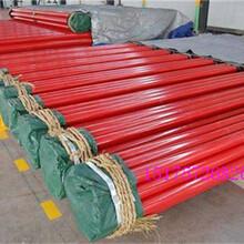 黄山消防涂塑钢管厂家价格报道图片