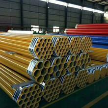 温州电缆穿线涂塑钢管生产厂家图片