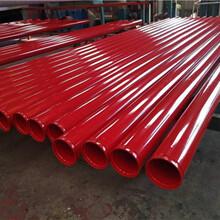 电缆专用涂塑钢管湖北生产厂家图片