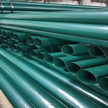 河南法兰连接涂塑复合钢管价格资讯图片