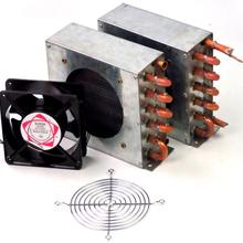 新乡冷凝器厂家批量出售的空调铜管冷凝器风冷冷凝器图片