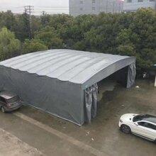 定做大型戶外倉庫物流收縮活動遮陽雨棚夜市排擋折疊雨棚