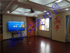 長沙某政府會議室85寸聯想疊云會議平板安裝調試成功