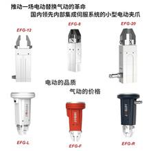 供应Z-EGF电动夹爪机器人夹具行程可调图片