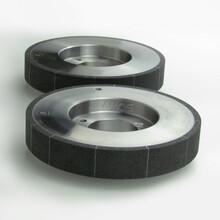 汽车发动机凸轮轴磨削陶瓷CBN砂轮外圆磨砂轮图片