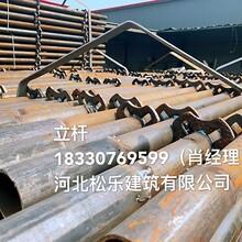 生产销售轮扣式脚手架直插型十字盘脚手架轮扣Q235钢管图片