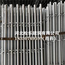 原厂生产销售盘扣式脚手架雷亚架热镀锌承插式脚手架Q355B材质图片