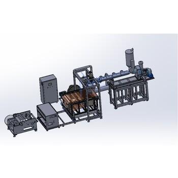 廣州普同出口級熔噴法非織造布生產線熔噴布生產設備