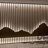 众钰园林工程金属景墙-苏州不锈钢园林景墙园林雕塑定做厂家