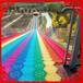 七彩滑道網紅彩虹滑道七彩滑道價格大型戶外游樂設備
