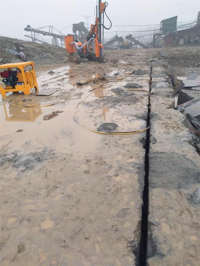 四川遂寧液壓巖石劈裂棒水泥樁頭分裂廠家