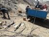 天津東麗巖石開采設備青石分裂