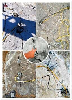 贵州遵义中型劈裂棒挖竖井有硬石头破碎