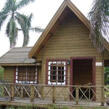 乐山轻型木屋木别墅图片