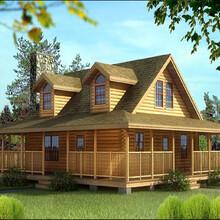长寿区重型木屋木别墅建筑制作图片