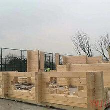 万源重型木屋木别墅建筑制作图片