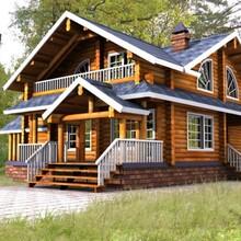 南岸区重型木屋木别墅结构图片