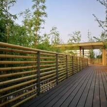 雅安竹欄桿建筑制作圖片