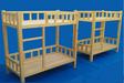 成都幼兒園學習桌椅松木雙層床送貨上門