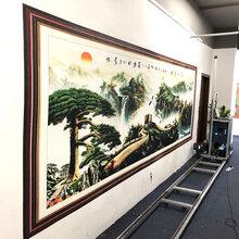 福建3d5d墙体彩绘机喷绘机壁画打印机文化墙大型户外墙体彩喷设备图片