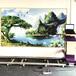 3d立體廣告壁畫打印機墻繪機彩印全自動墻體噴繪彩繪機墻面繪畫機