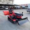 履带式微耕机乘坐式履带开沟机多功能除草施肥回填机厂家