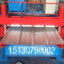 南皮希浩全自动不锈钢840-900双层压瓦机设备价格图片