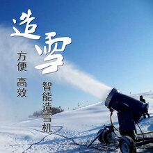 滑雪場造雪溫度國產造雪機設備滑雪場造雪機冰雪游樂場項目圖片