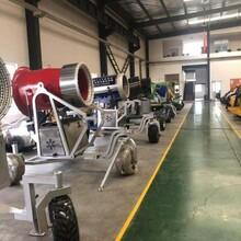 造雪機品牌滑雪場整體規劃冰雪樂園建設成本國產造雪機售價圖片