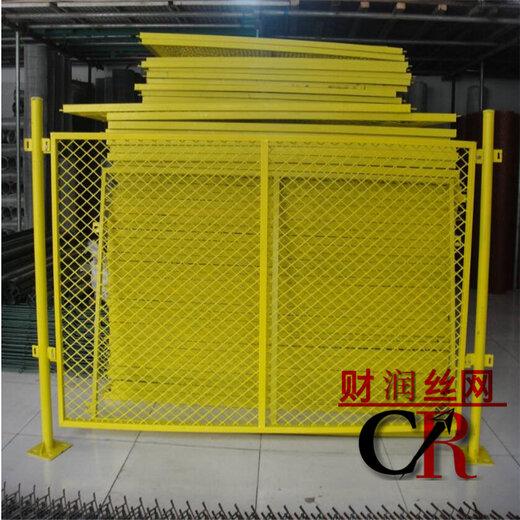 豎桿基坑圍欄防護欄欄生產廠基坑安全圍欄人貨電梯安全門