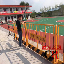 基坑防护栏报价护栏生产厂家基坑护栏施工电梯门图片