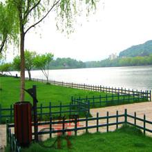 草坪栅栏围栏量大从优花园草坪护栏厂图片