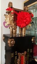 西安开业大鼎庆典大花瓶红色黄色随便选酒店大厅摆件