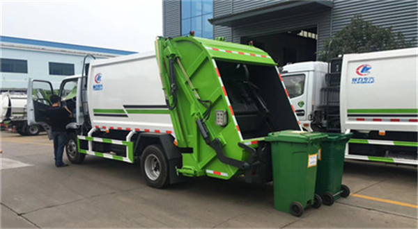 汕尾市14方程力压缩垃圾车厂家