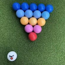 兰州全新高尔夫彩色球供应图片