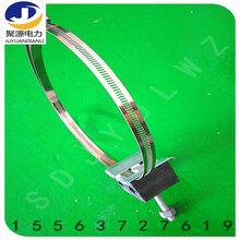 桿用引下線夾鏤空鋼帶型卡扣可進行調節大小常規鋼帶抱箍1.2米長圖片
