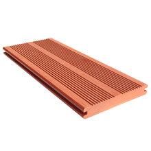 高强度实心木塑复合地板3D木纹设计青岛工厂直销图片
