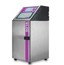 青島噴碼機廠家進口機依瑪仕9018果汁飲料外包裝日期高速噴碼
