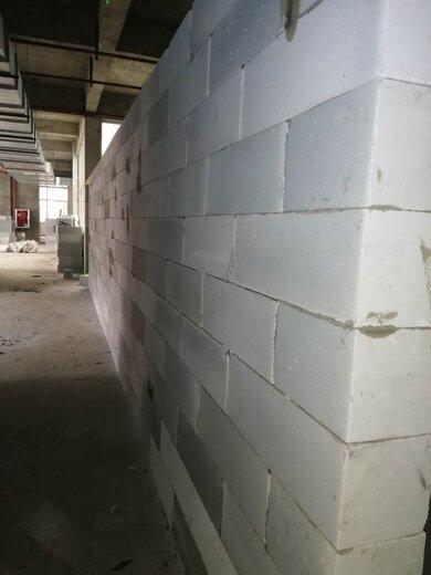 輕質加氣磚隔墻圖