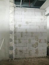 浮輕質加氣磚隔墻施工報價圖片