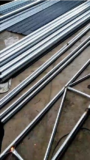 鋼構大棚圖