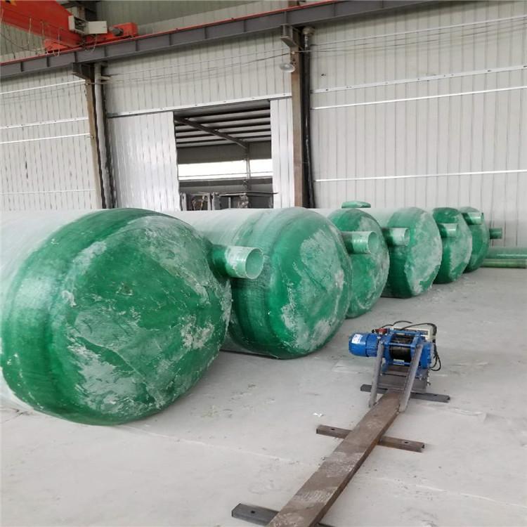 唐山玻璃钢化粪池制造厂 玻璃钢化粪池施工方案