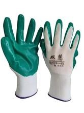 勞保手套生產廠家批發丁青發泡皺紋PVCPU工作手套圖片