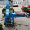牛羊飼料鍘草粉碎機玉米秸稈多功能鍘切機家用小型切草鍘草機