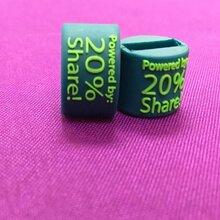 服裝箱包LOGO定制硅膠膠章商標嘉綸服飾輔料廠家植膠膠章