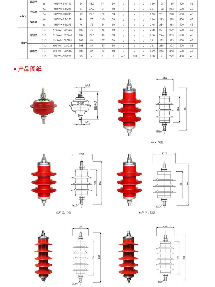 希然电气氧化锌避雷器,宁夏HY5WZ避雷器原理