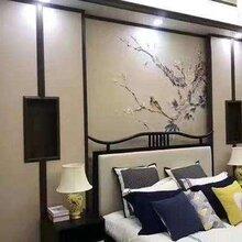 茂名电视背景墙竹木纤维板,竹木纤维扣板图片