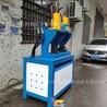河南货架方管冲断机槽钢方管打孔机方管切90度角机圆管液压冲弧机